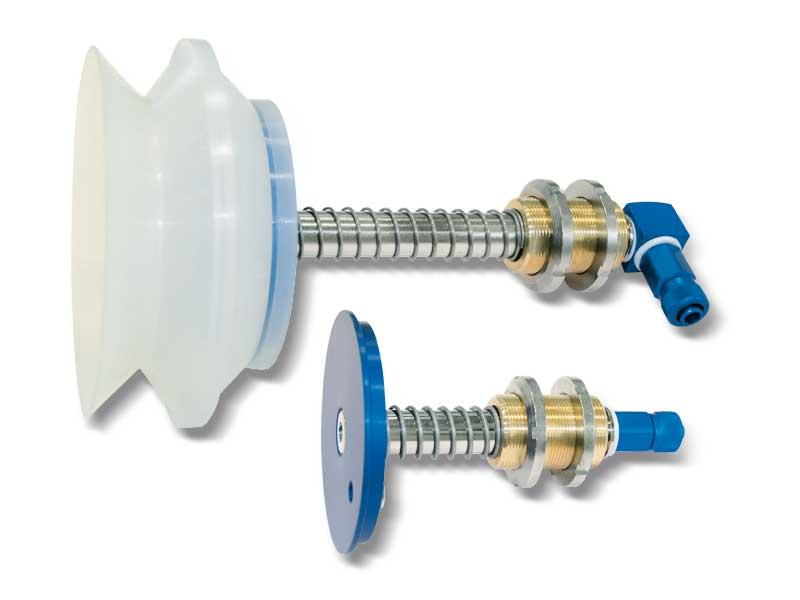 Portaventosas especiales para ventosas de fuelle
