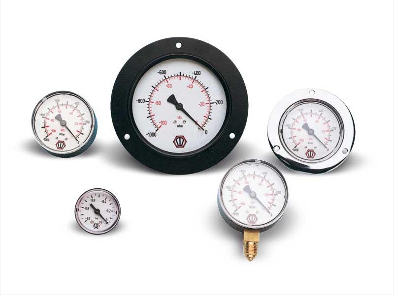 Vacuómetros y manómetros