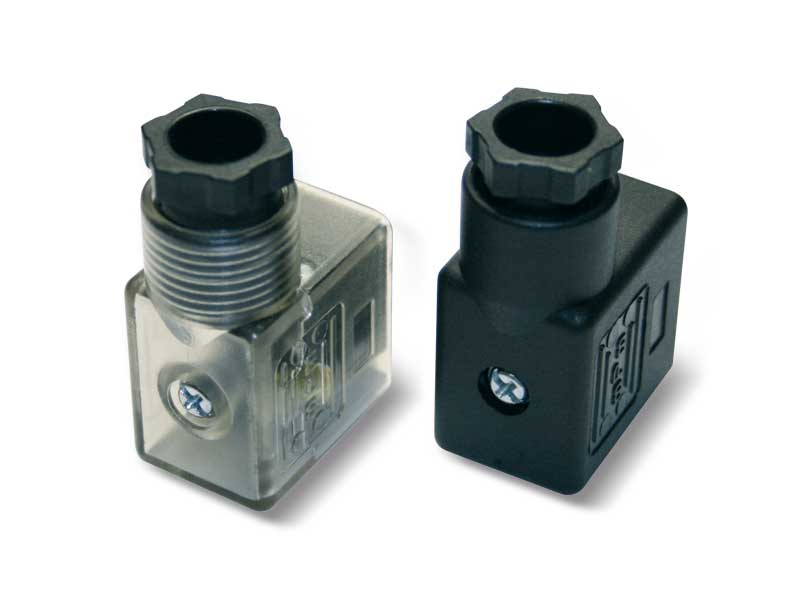 Conectores para bobinas eléctricas