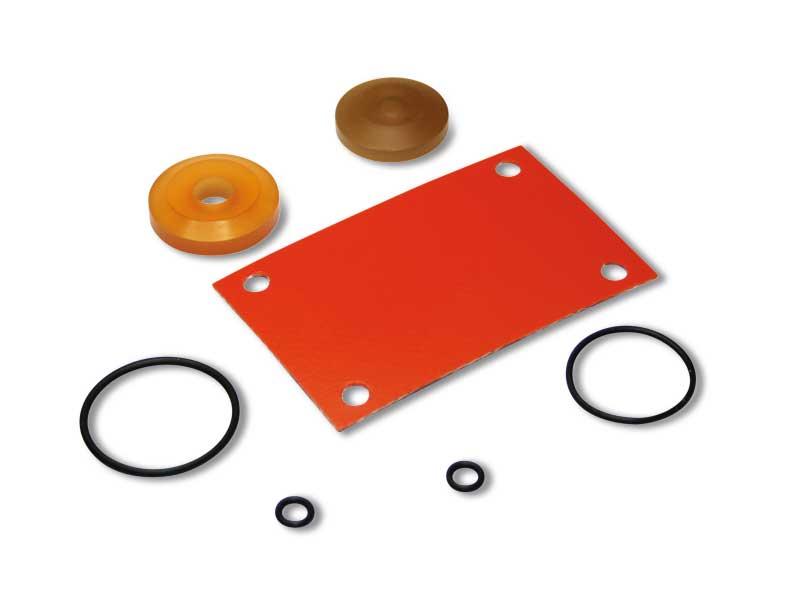 Kit de juntas para electroválvulas con bobinas eléctricas de baja absorción