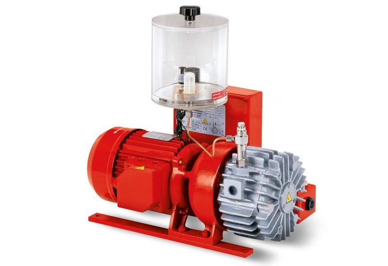 Bombas de vacío VTLP 10/F, VTLP 15/F y VTLP 20/F con lubricación a pérdida