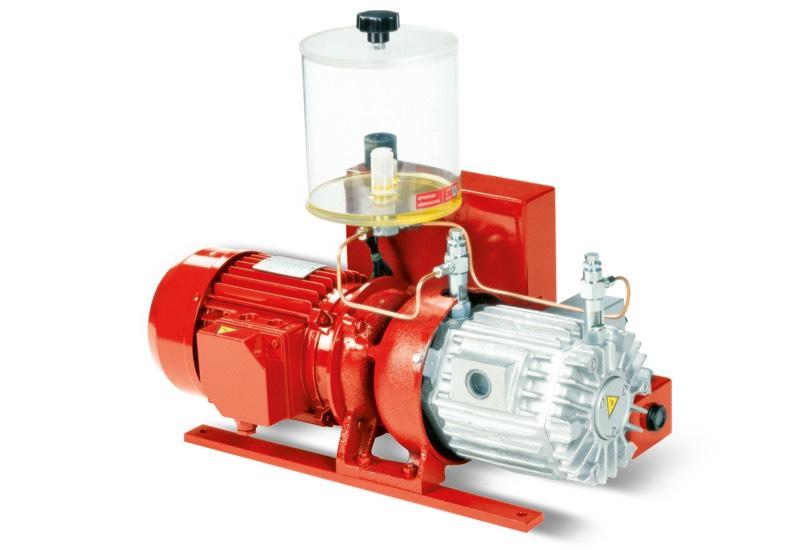 Bombas de vacío VTLP 25/F, VTLP 30/F y VTLP 35/F con lubricación a pérdida