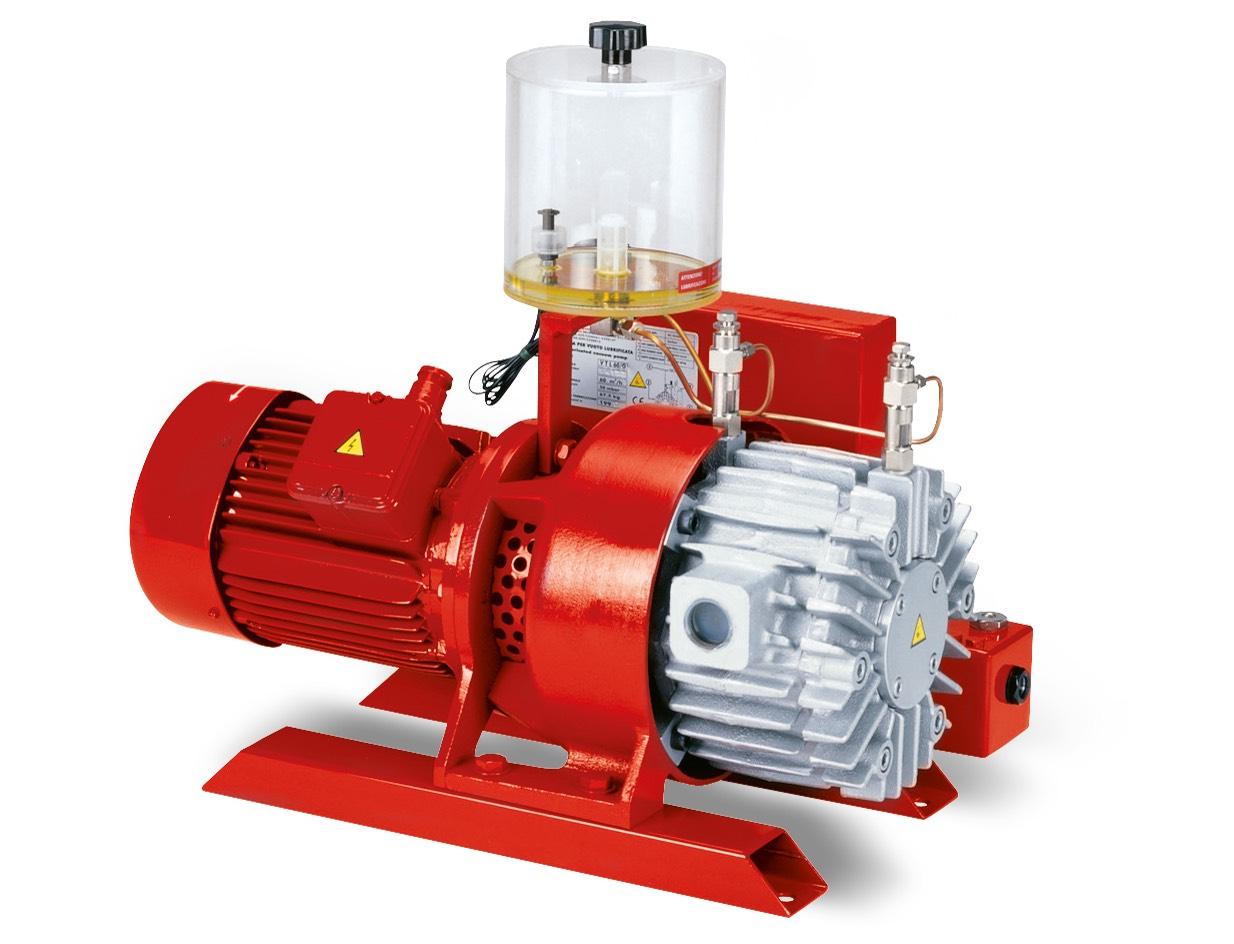 Bombas de vacío VTLP 40/G1, VTLP 50/G1 y VTLP 65/G1, con lubricación a pérdida