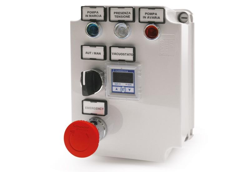 Equipo eléctrico de mando para minidepresores