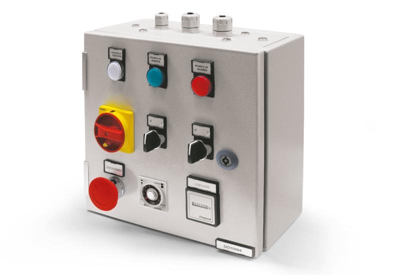Equipo eléctrico de seguridad para bomba individual