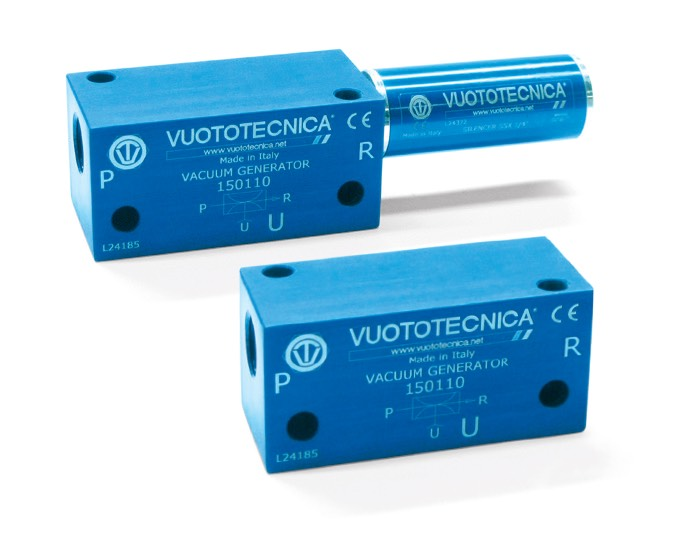 Generadores de vacío de una etapa 15 01 10, 15 01 10 LP y 15 01 15 LP