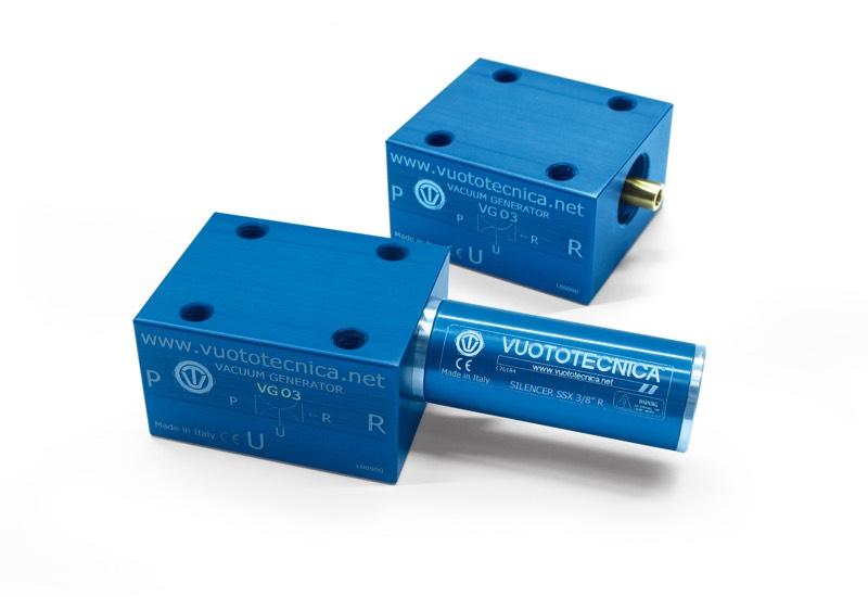 Generadores de vacío de una etapa VG 03, VG 03 LP y VG 05 LP