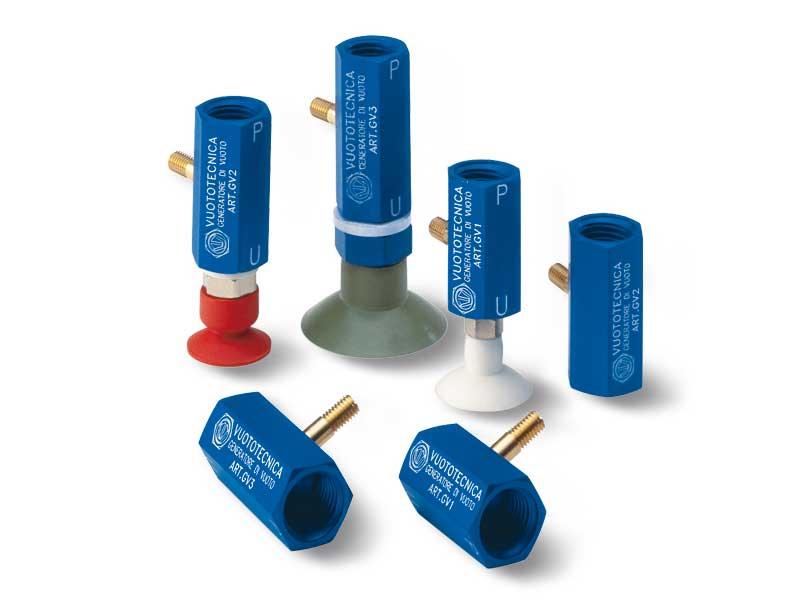 Generadores de vacío de una etapa en línea serie GV 1, GV 2 y GV 3