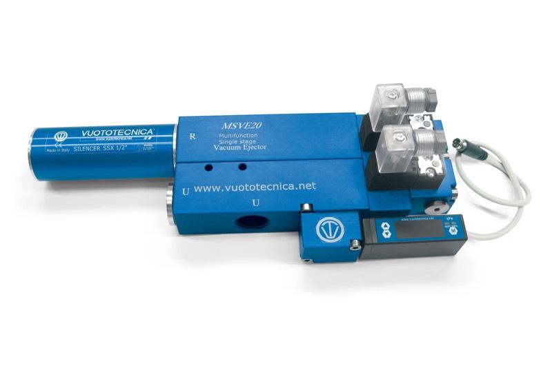 Generadores de vacío de una etapa y multifunción MSVE 20