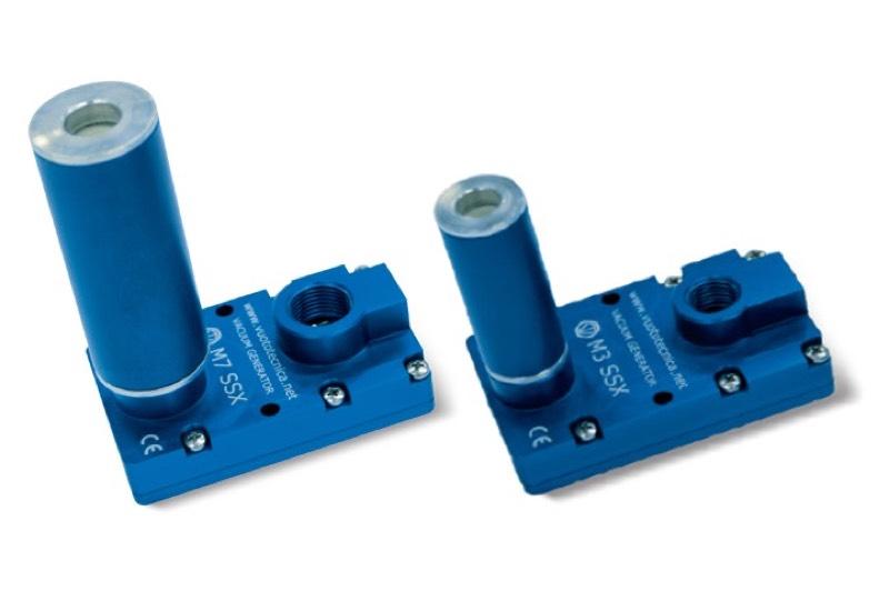 Generadores de vacío multietapa serie M.. SSX