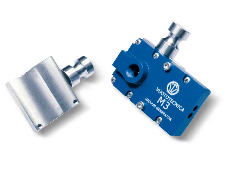 Soportes de fijación para generadores de vacío multietapa serie M