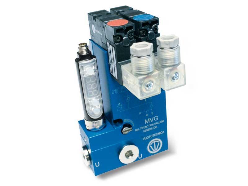 Generadores de vacío multietapa y multifunción MVG 3 y MVG 7