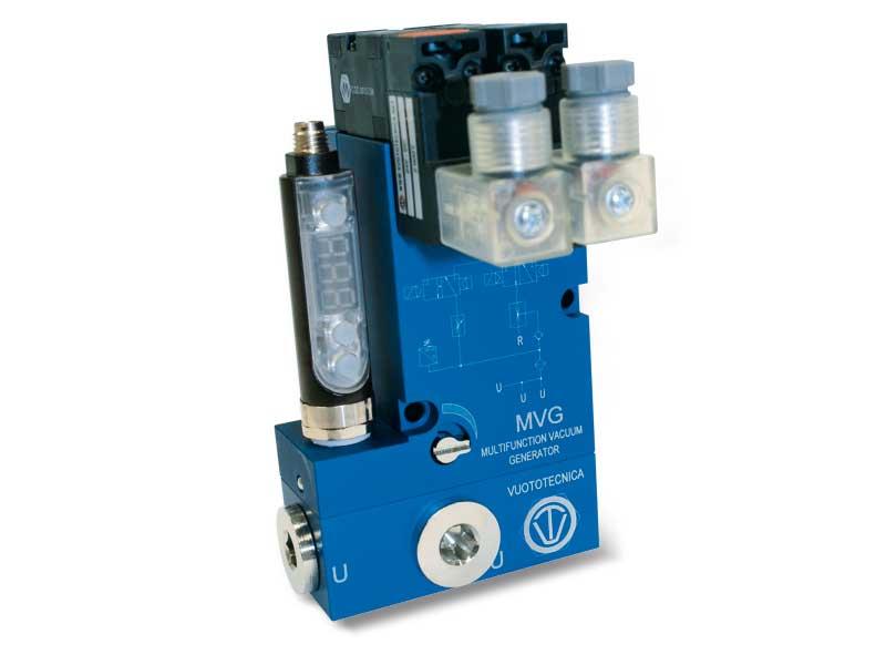 Generadores de vacío multietapa y multifunción MVG 10 y MVG 14