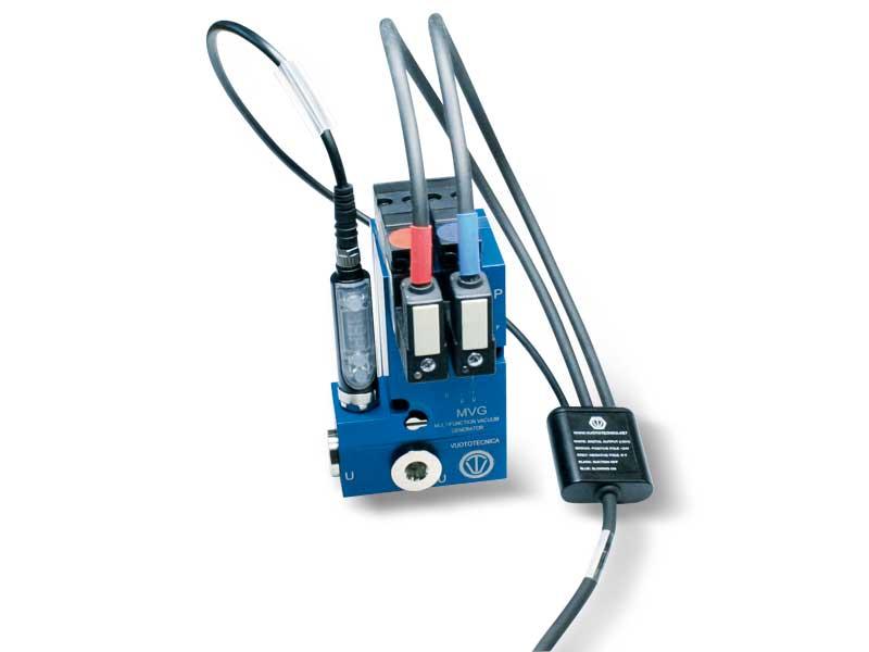 Accesorios y repuestos para generadores de vacío multietapa y multifunción, serie MVG