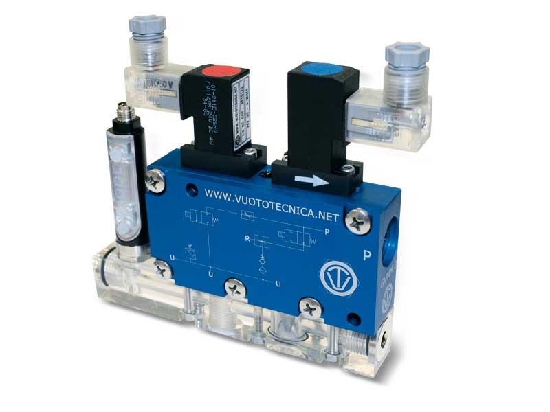 Generadores de vacío multietapa, multifunción y modulares GVMM 3 y GVMM 7