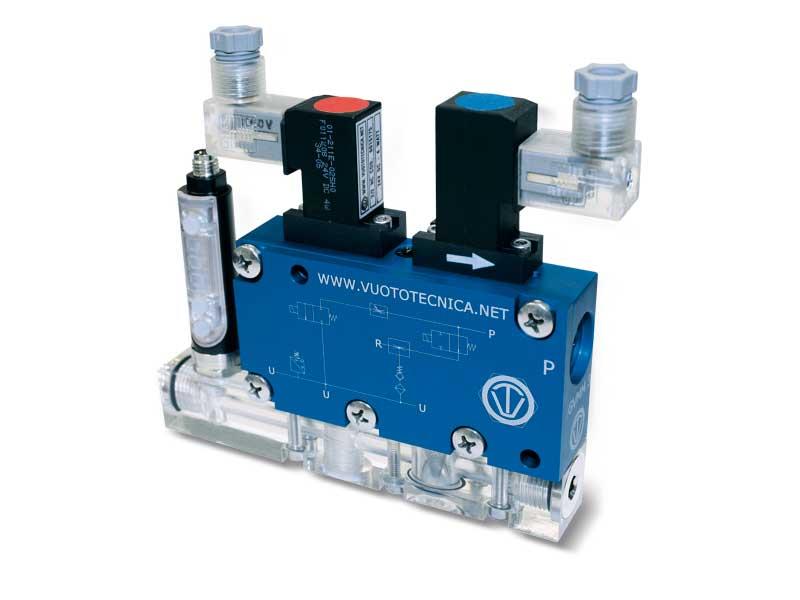Generadores de vacío multietapa, multifunción y modulares GVMM 10 y GVMM 14