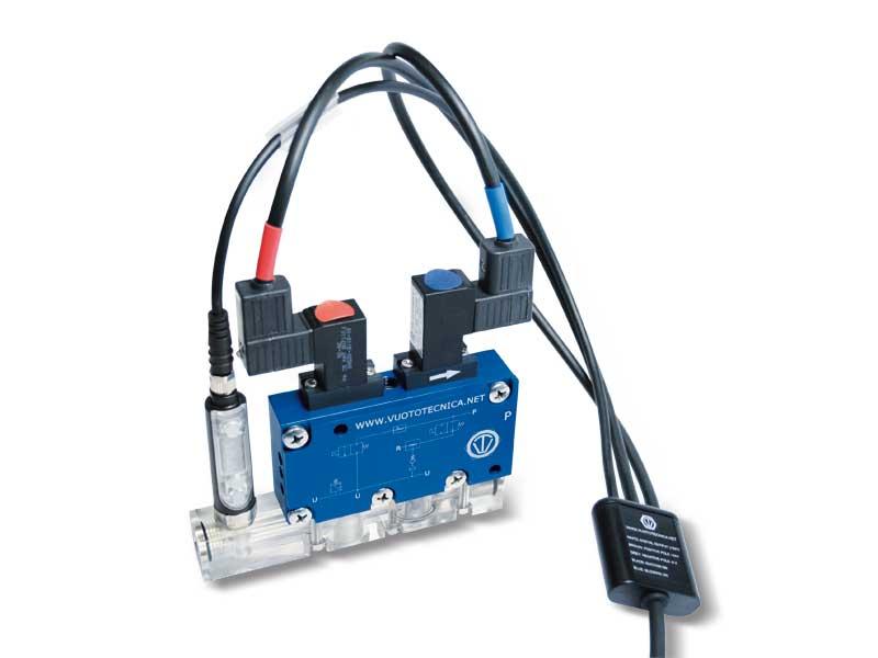 Accesorios y repuestos para generadores y módulos de vacío serie GVMM y MI