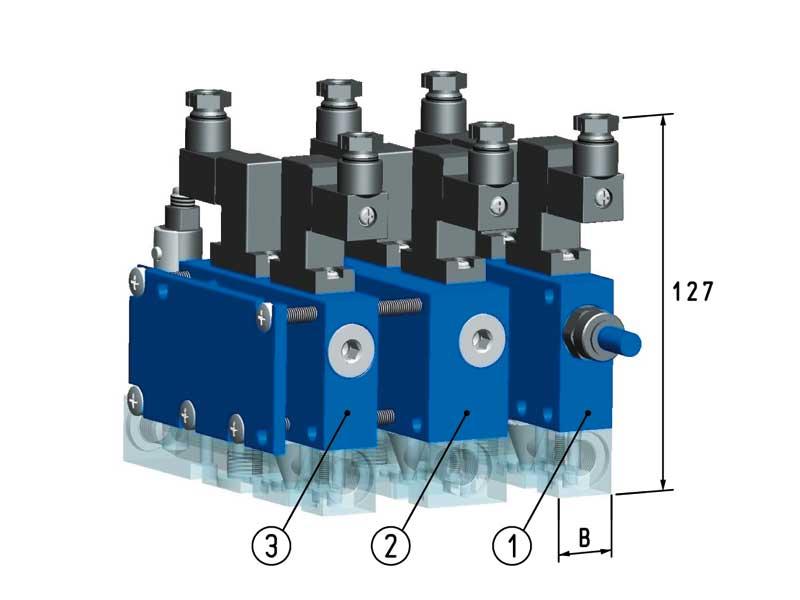 Composición de los sistemas de vacío modulares