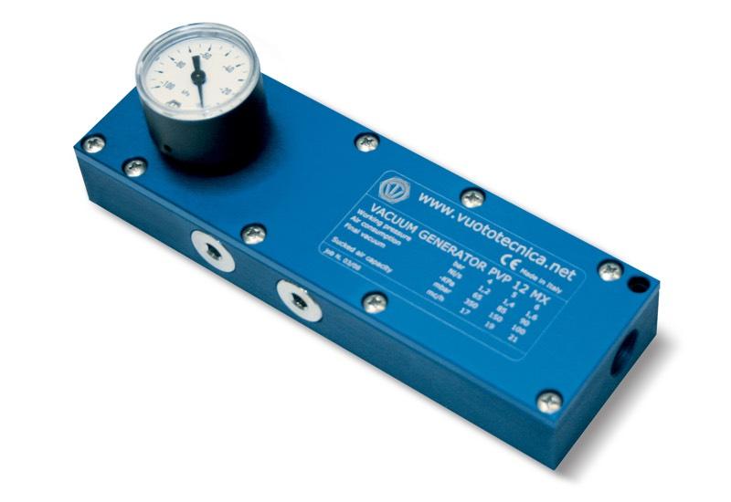 Generadores de vacío multietapa PVP 12-25 MX / MXLP