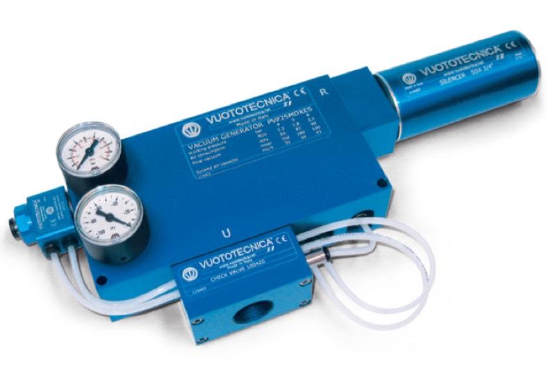 Accesorios para generadores de vacío PVP 25 ÷ 75 MDX / MDXLP