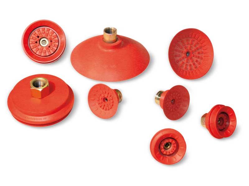 Maxigrip cups - Ventosas redondas planas y de fuelle