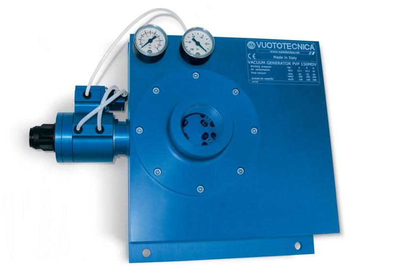Generadores de vacío multietapa y modulares, PVP 150 ÷ 750 MD / MDLP - Características generales