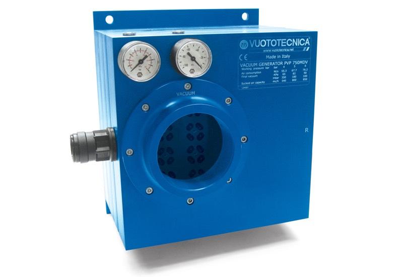 Generadores de vacío multietapa y modulares PVP 750 MD / MDLP