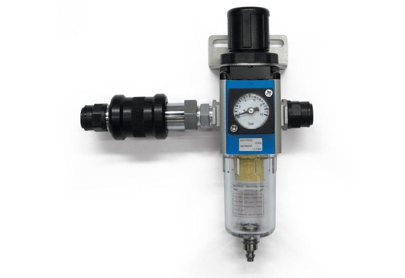 Equipo neumático para la alimentación de los minidepresores DOP 06, DOP 10 y DOP 20