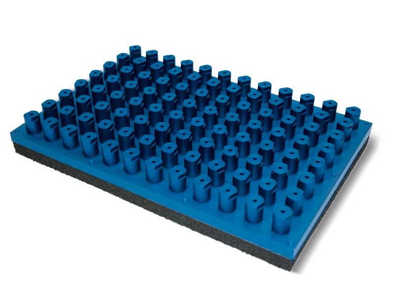 Superficies de aspiración estándar con válvulas de cierre automático PXE y P2XE, para sistemas OCTOPUS