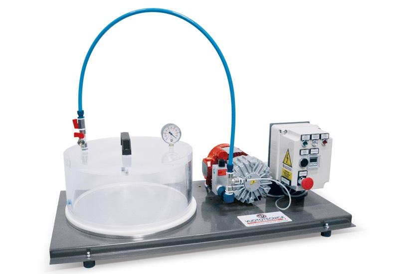 Equipos eléctricos para las pruebas de vacío