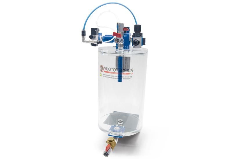 Unidades de aspiración con filtro de sifón GA FS 5 y GA FS 10