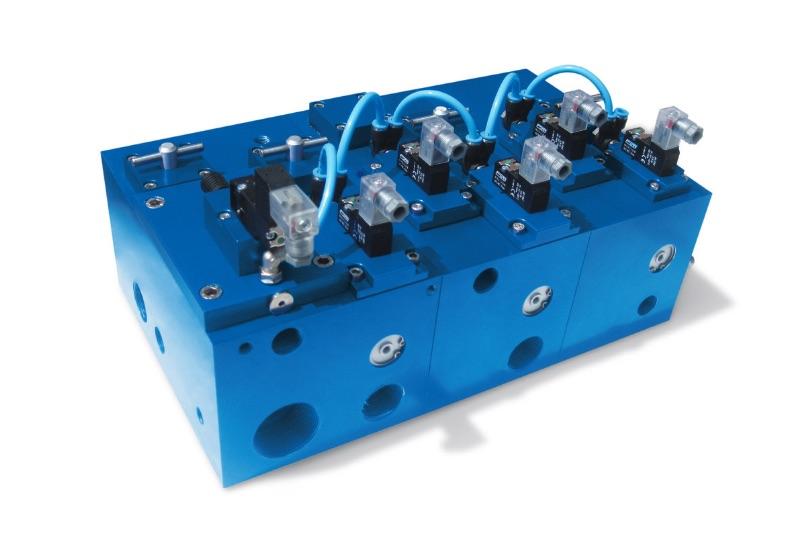 Electroválvulas - ejecuciones especiales a petición módulos multifunción, con electroválvulas de vacío integradas