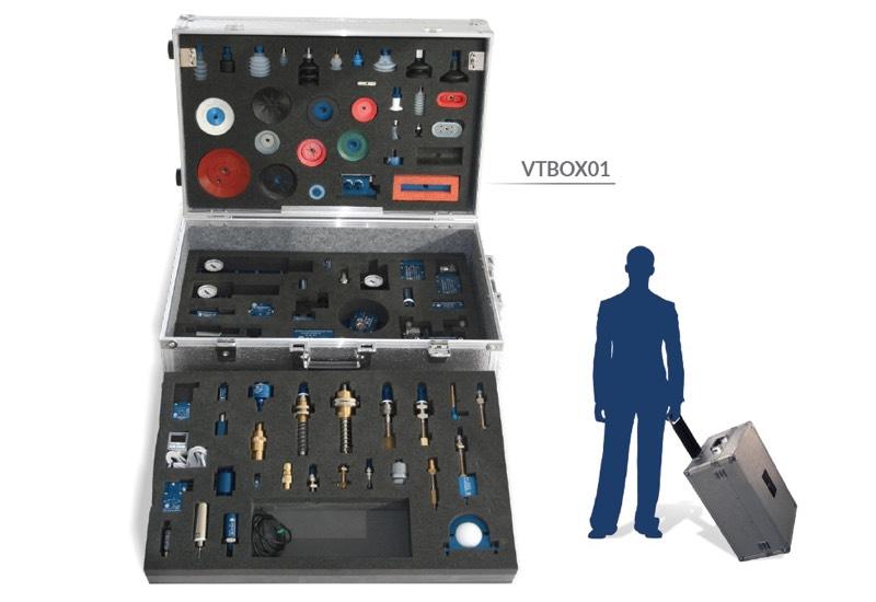 Muestrario y equipos para uso demostrativo - Vacuum training box - VTBOX01