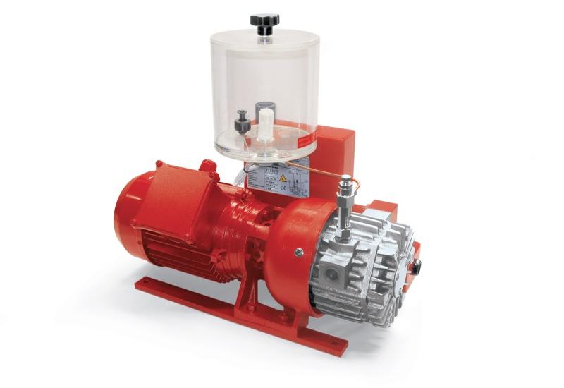 Bombas de vacío VTLP 10/FG, VTLP 15/FG y VTLP 20/FG con lubricación a pérdida